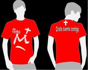 Camiseta para la JMJ