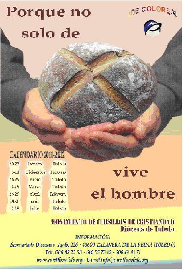 Cursillos de Cristiandad Diócesis de Toledo Curso 2011 /2012