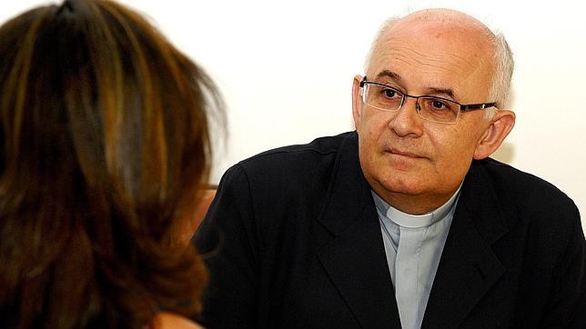 ANA PÉREZ HERRERA. Ángel Fernández Collado en un momento de la entrevista. Foto ABC