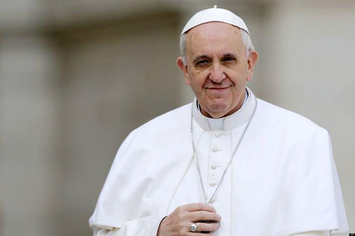 """El #PapaFrancisco: La vida cristiana no es una fiesta, es """"alegría enesperanza"""""""