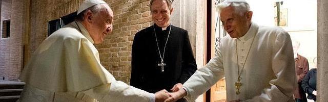 Benedicto XVI dice que las supuestas conspiraciones para que renunciara son «simplementeabsurdas»