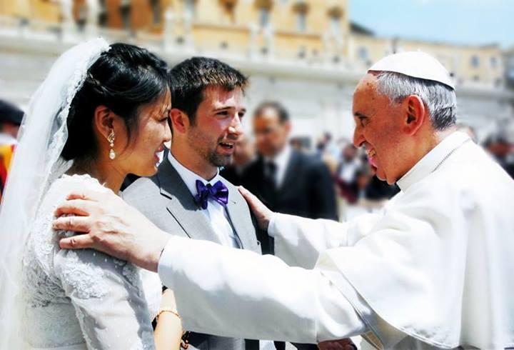 El Matrimonio es el icono del amor de Dios por el génerohumano