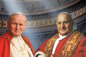 Canonización de Juan XXIII y de Juan PabloII