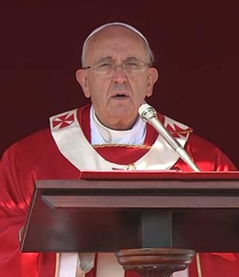 Homilía del #PapaFrancisco en la Santa Misa del Domingo deRamos