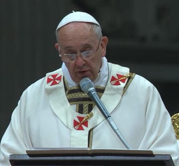 Homilía del #PapaFrancisco en la VigiliaPascual