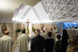 #PapaFrancisco: El matrimonio cristiano es fiel, perseverante y fecundo, dijo el Papa en suhomilía