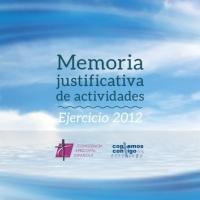 Memoria Anual de Actividades de la Iglesia en España (2012)