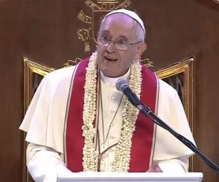 Discurso del #PapaFrancisco en su encuentro con lasfamilias