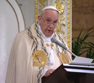 Homilía del #PapaFrancisco en la celebración de las Vísperas como clausura de la Semana de Oración por la Unidad de losCristianos