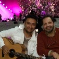 Martín Valverde y Álex Campos cantaron juntos en el Vaticano
