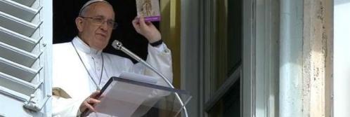 Alocución del Santo Padre Francisco al rezo del Ángelus Domini(22.02.2015)