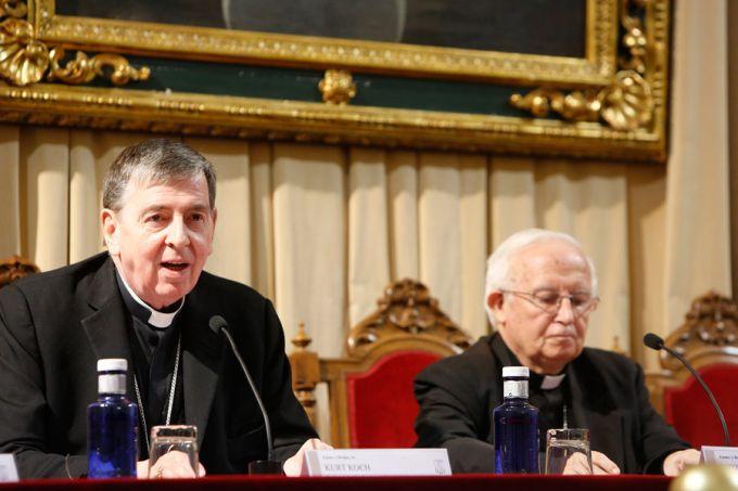 El ecumenismo es un deber de toda la Iglesia, afirma CardenalKoch
