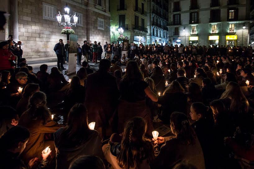 Concentración en Barcelona en apoyo a los cristianosperseguidos