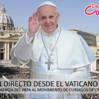 CURSILLOS DE CRISTIANDAD CELEBRAN EN ROMA LA 3ª ULTREYA EUROPEA CON PRESENCIA DEL PAPA FRANCISCO