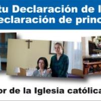 Presentación de la contribución en la Declaración de la Renta 2014 (IRPF 2013)