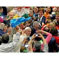 DISCURSO DEL PAPA AL MOVIMIENTO DE CURSILLOS EN LA ULTREYA EUROPEA