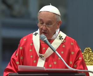 Homilía del Papa Francisco durante la Santa Misa en la Solemnidad dePentecostés