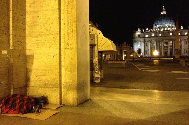 El Papa Francisco decide que se abra un nuevo albergue para las personas sinhogar