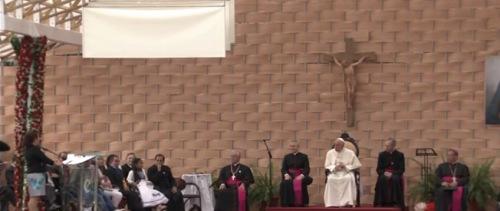 Resumen de los testimonios de un rector, una profesora y una joven estudiante en el encuentro del papa Francisco con el mundo de laeducación