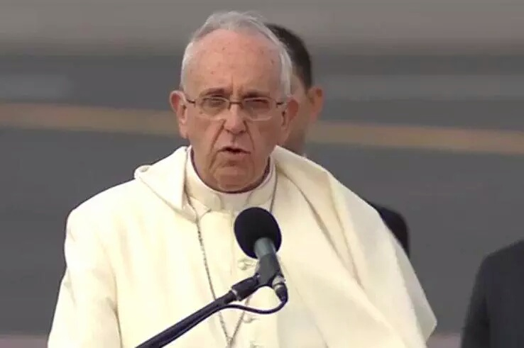 Discurso del Santo Padre Francisco en la ceremonia de bienvenida aEcuador