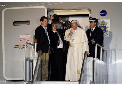 Saludo del Santo Padre Francisco al Comité organizador, a los voluntarios y a losbenefactores