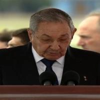 Discurso de bienvenida del Sr. Presidente de la República de Cuba, Raúl Castro, al Santo Padre Francisco