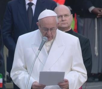 Oración del Papa Francisco en el acto de veneración a laInmaculada