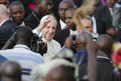 Discurso del Santo Padre Francisco en su encuentro con la clase dirigente y el cuerpo diplomático de la RepúblicaCentroafricana