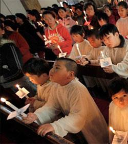 Los católicos chinos aprovechan el fin de la política de hijo único para dartestimonio