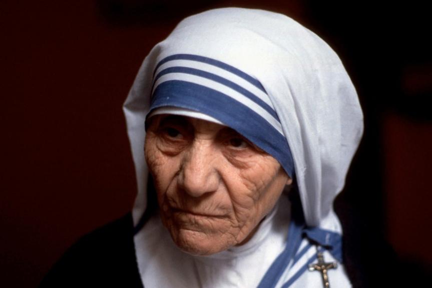 10 frases impactantes de la Madre Teresa deCalcuta