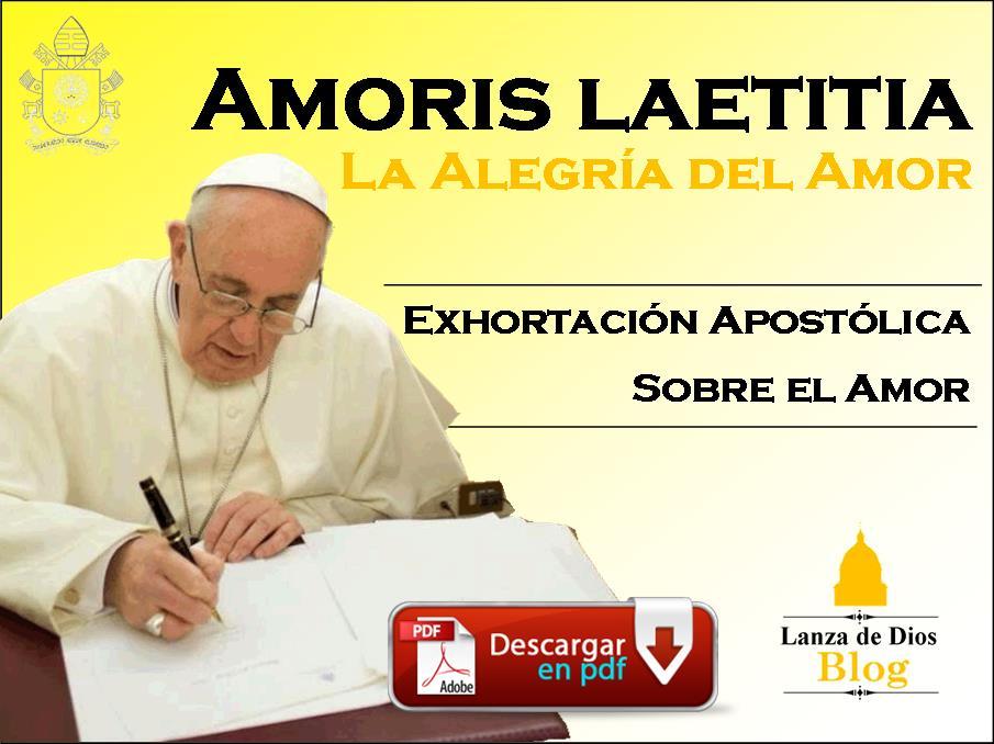 ExhortacionApostolicaLaAlegriaDelAmor