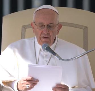 Síntesis y saludo en español de la catequesis del Papa Francisco(30.04.2016)