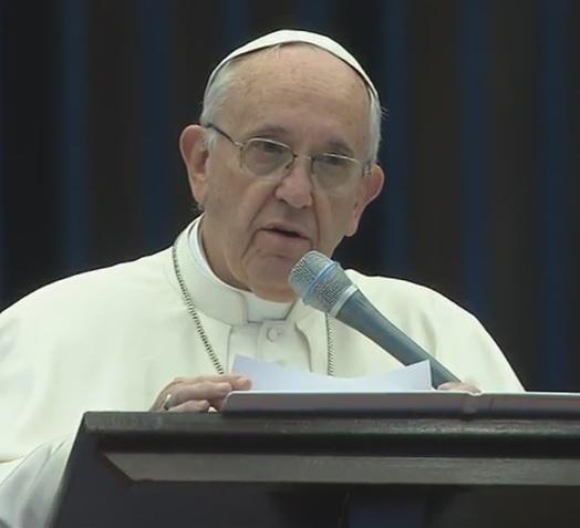 Discurso del Santo Padre Francisco en la Vigilia de oración con los devotos de la DivinaMisericordia