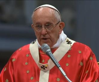 Homilía del Papa Francisco en la Solemnidad dePentecostés