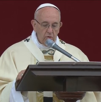 Homilía del Papa Francisco en la Solemnidad del CorpusChristi
