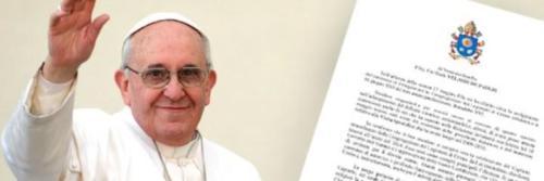 Carta del Papa Francisco al Presidente de la Conferencia Episcopal Argentina con motivo de la fiesta de San Cayetano,01.08.2016
