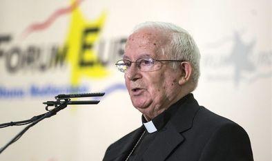 El cardenal Cañizares nunca se ha referido a la política de igualdad entre hombres y mujeres comoamenaza