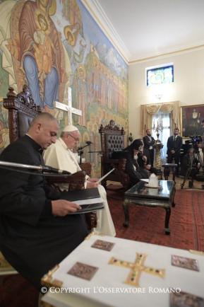 Encuentro con S.S. y Beatitud Elías II, Catholicós y Patriarca de todaGeorgia