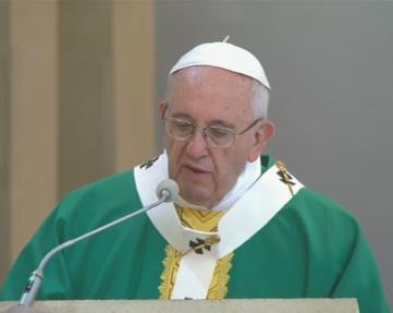 Homilia del Papa Francisco en la Santa Misa en la iglesia de la Inmaculada deBakú