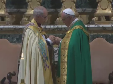 Palabras de Su Gracia Justin Welby en las Vísperas con motivo del 50 aniversario del encuentro entre el Beato Pablo VI y el arzobispo deCanterbury