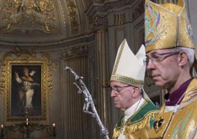 Declaración conjunta de Su Santidad Francisco y Su Gracia JustinWelby