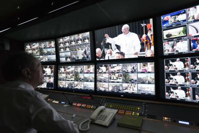 La transmisión televisiva de la clausura del Año de la Misericordia será de gran calidadtécnica