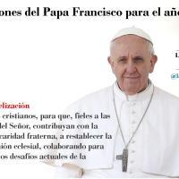 Intenciones del Papa Francisco para Enero de 2017
