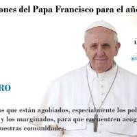 Intenciones del Papa Francisco para Febrero de 2017