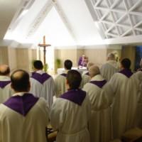 Homilía del Papa Francisco. Jueves después de Ceniza: La brújula del cristiano