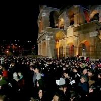 Texto completo del Via Crucis 2017 presidido por el papa Francisco en el Coliseo