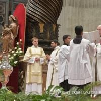 Santa Misa Crismal en la Basílica Vaticana