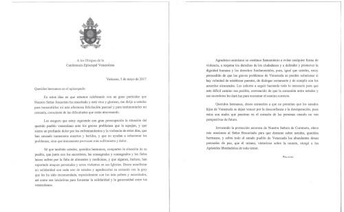 carta_del_papa_francisco_a_los_obispo_de_venezuela