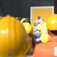 """Papa Francisco: """"¡En el mundo del trabajo, la comunión debe ganar a la competición!"""""""