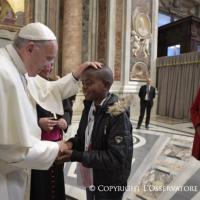 Jornada mundial de los pobres. Homilía del Papa en la misa en San Pedro: : Pasaporte al paraíso